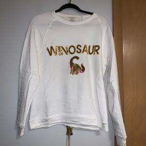 Bow & Drape Winosour sweatshirt
